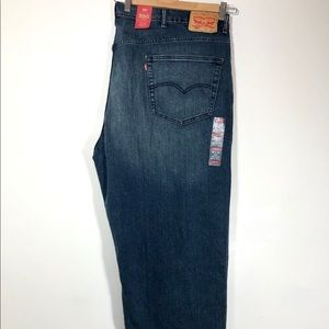 Levi's 550 Relaxed Big Tall Stretch Denim Jeans